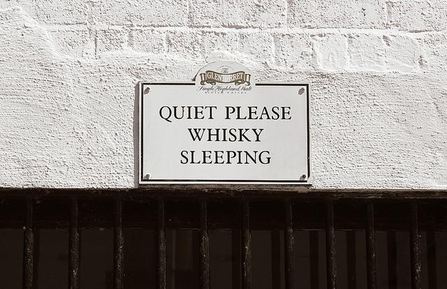 whisky-sleeping